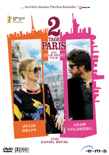 Foto vom Film Cover 2 Tage in Paris Kategorie Reisen