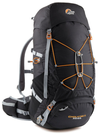 Image Of A Dark Brown Lowe Alpine Backpack