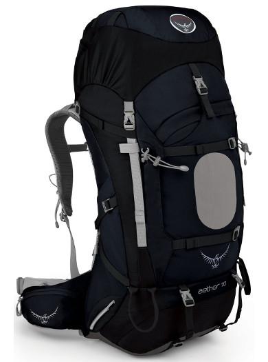 Image Of A Black Osprey Backpack