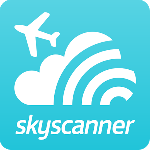 Image Of Logo Skyscanner App Category Travel