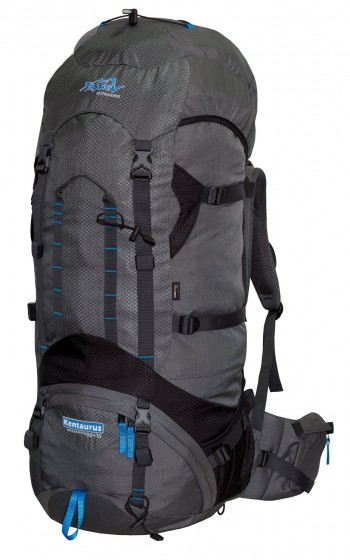 Image Of A Grey And Black Tashev Backpack