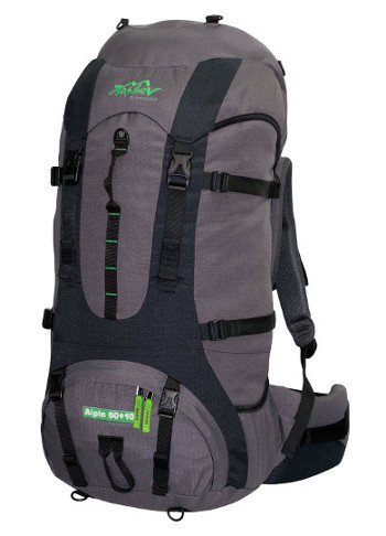 Image Of A Black And Grey Tashev Alpin Backpack