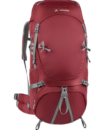 Image Of A Red Vaude Backpack