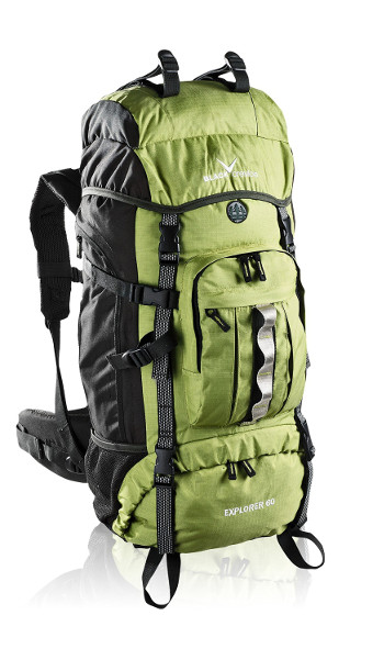 Image Of A Green And Black Black Crevice Backpack