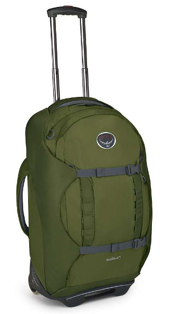 Image Of A Green Osprey Backpack