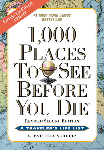 Image Of Book Cover 1000 Places To See Before You Die From Autor Patricia Schultz Category Backpacking