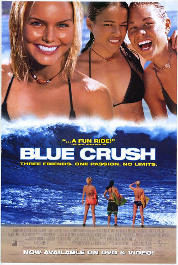 Image Of Movie Cover Blue Crush Category Adventure