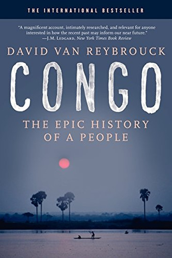 Image Of Book Cover Congo The Epic History Of A People From Autor Category History