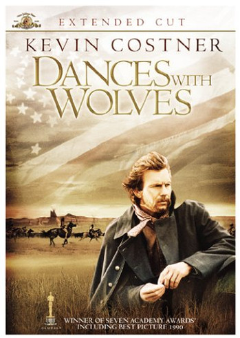 Image Of Movie Cover Dances With Wolves Category Adventure