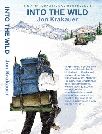 Image Of Book Cover Into The Wild From Autor Jon Krakauer Category Backpacking