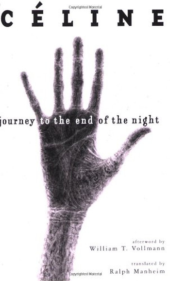 Image Of Book Cover Journey To The End Of The Night From Autor Louise Ferdinand Céline Category Adventure