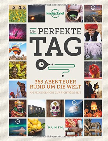 Foto vom Buch Cover Der perfekte Tag vom Herausgeber Lonely Planet Kategorie Backpacking