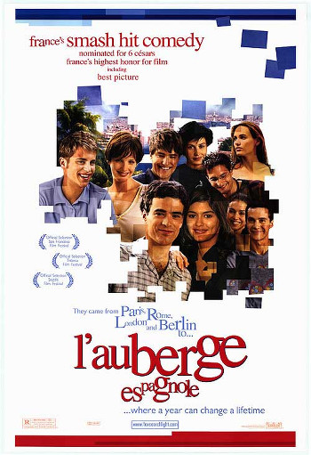 Image Of Movie Cover L'Auberge Espagnol Category Backpacking