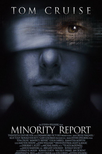 Image Of Movie Cover Minority Report Category Drama