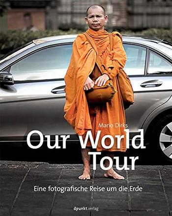 Foto vom Buch Cover Our World Tour vom Autor Mario Dirks Kategorie Backpacking