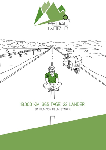 Foto vom Film Cover Pedal The World Kategorie Abenteuerreise