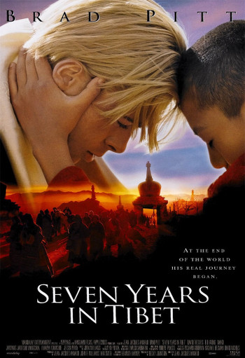 Image Of Movie Cover Seven Years In Tibet Category Travel