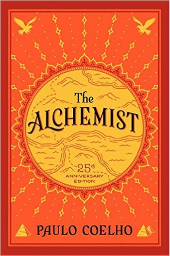 Image Of Book Cover The Alchimist From Autor Paulo Coelho Category Travel