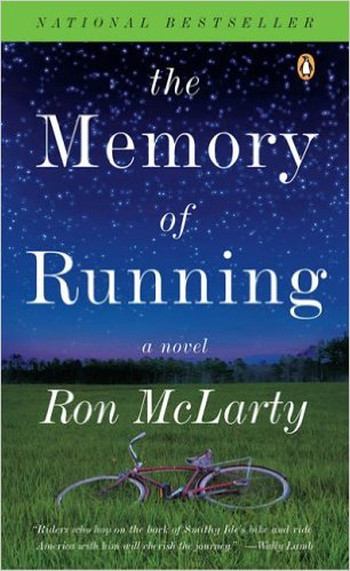 Image Of Book Cover The Memory Of Running From Autor Ron McLarty Category Travel