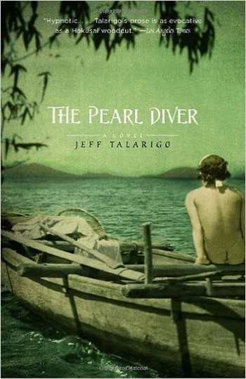 Image Of Book Cover The Pearl Diver From Autor Jeff Talarigo Category Drama