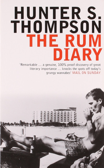 Image Of Book Cover The Rum Diary From Autor Hunter S. Thompson Category Travel