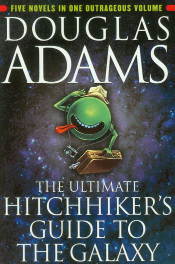 Image Of Book Cover The Ultimate Hitchhikers Guide To The Galaxy From Autor Douglas Adams Category Travel