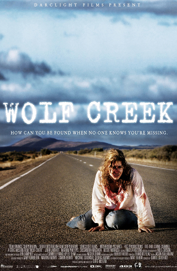 Image Of Movie Cover Wolf Creek Category Horror
