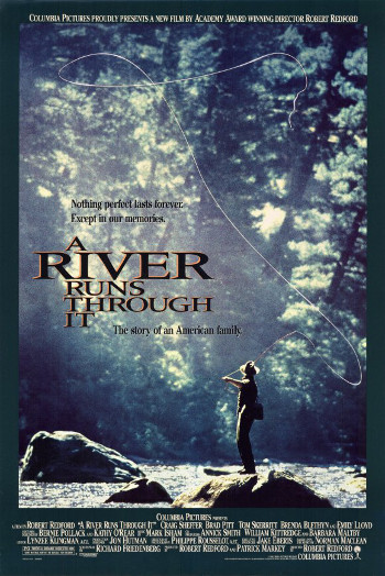 Image Of Movie Cover A River Runs Through It Category Drama