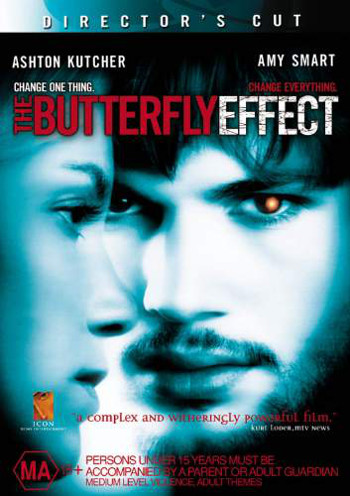 Image Of Movie Cover The Butterfly Effect Category Drama