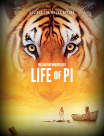 Image Of Movie Cover Life Of Pi Category Adventure