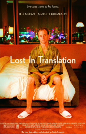 Image Of Movie Cover Lost In Translation Category Travel