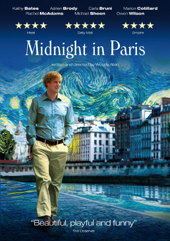 Image Of Movie Cover Midnight In Paris Category Travel