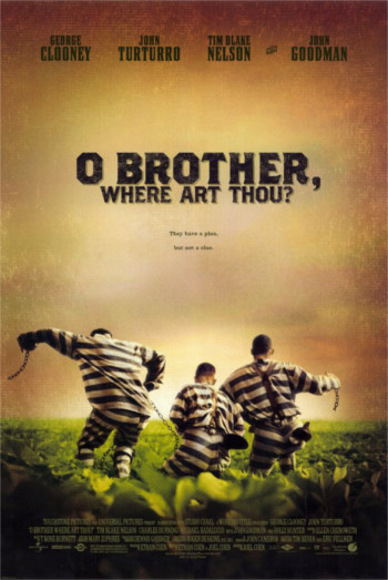Foto vom Film Cover O Brother Where Art Thou Kategorie Abenteuer