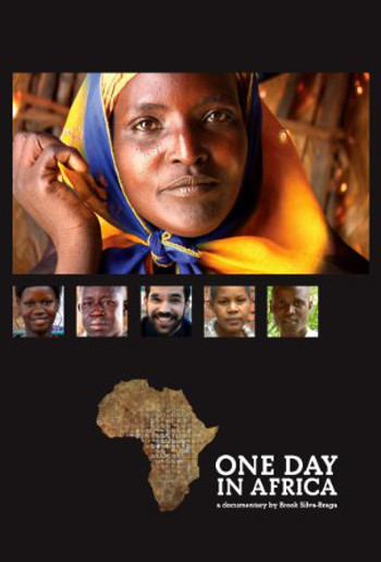 Image Of Movie Cover One Day In Africa Category Documentation