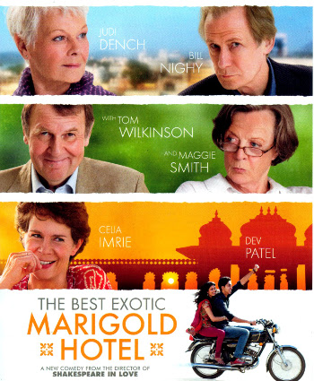 Foto vom Film Cover The Best Exotic Marigold Hotel Kategorie Reisen