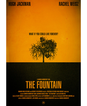Image Of Movie Cover The Fountain Category Thinking