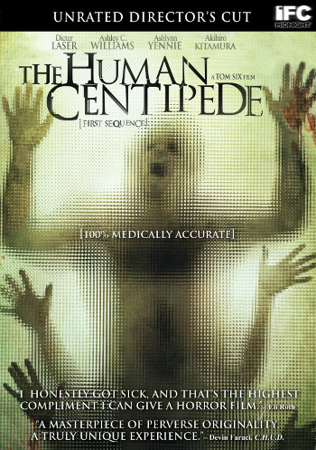 Image Of Movie Cover The Human Centipede Category Backpacking