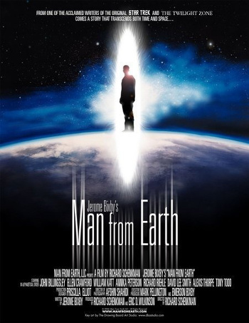 Image Of Movie Cover Man From Earth Category Action