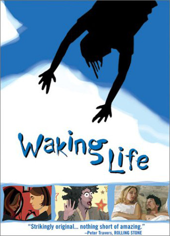 Image Of Movie Cover Waking Life Category Thinking