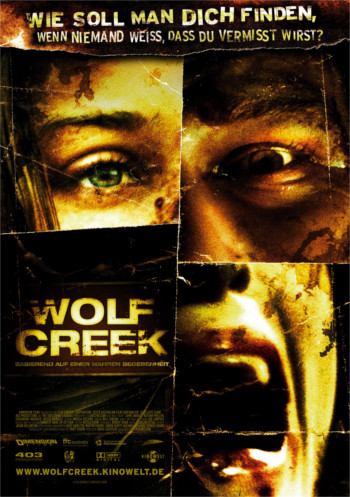 Foto vom Film Cover Wolf Creek Kategorie Horror