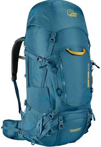 Image Of A Blue Lowe Alpine Backpack