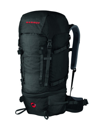 Image Of A Black Mammut Backpack
