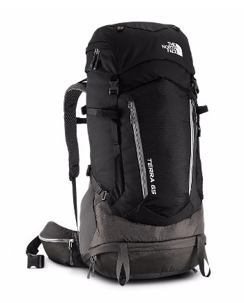 Image Of A Black North Face Backpack