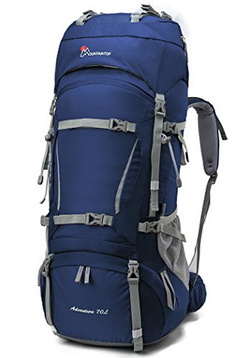 Image Of A Blue Mountaintio Backpack