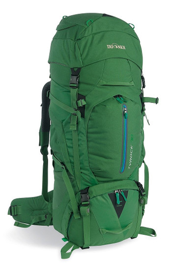 Image Of A Green Tatonka Backpack