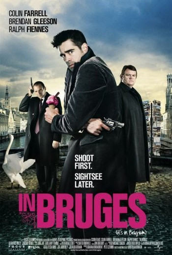 Image Of Movie Cover In Bruges Travel Movie